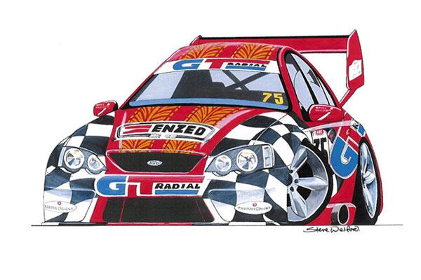 Caricaturas de autos - Imagui