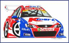 '05 Holden Commodore, driven by  Greg Murphy  » Click to zoom ->